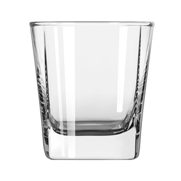 Libbey 2209 6.37-oz Quartet Square Base Old Fashioned Glass