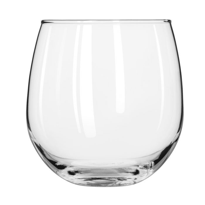 Libbey 222 16.75-oz Stemless Red Wine Glass