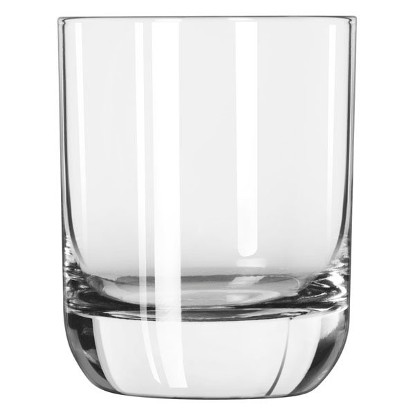 Libbey 2291SR 9-oz Envy Heavy Sham Rocks Glass - Sheer Rim