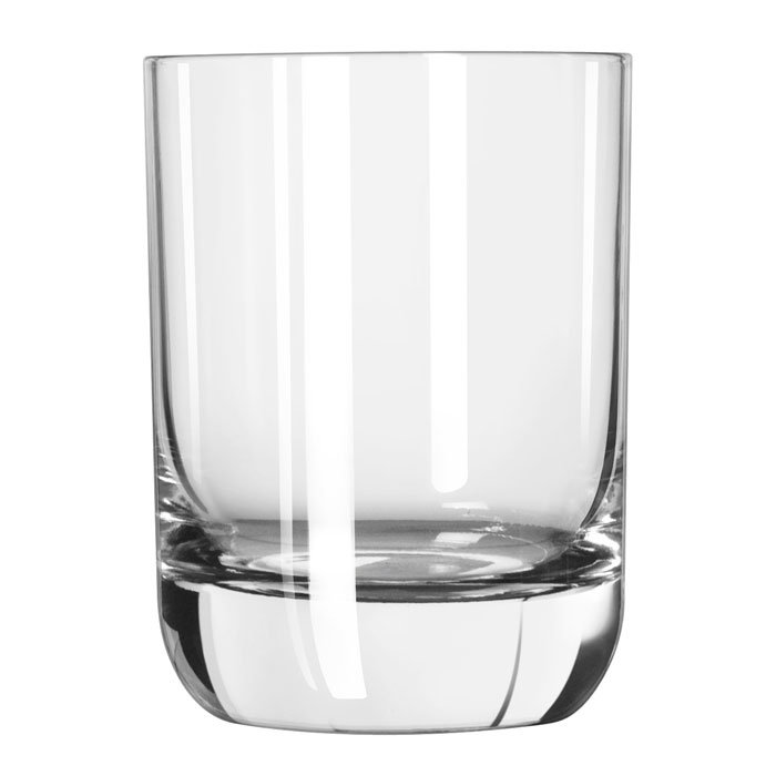 Libbey 2292SR 11-oz Envy Heavy Sham Rocks Glass - Sheer Rim