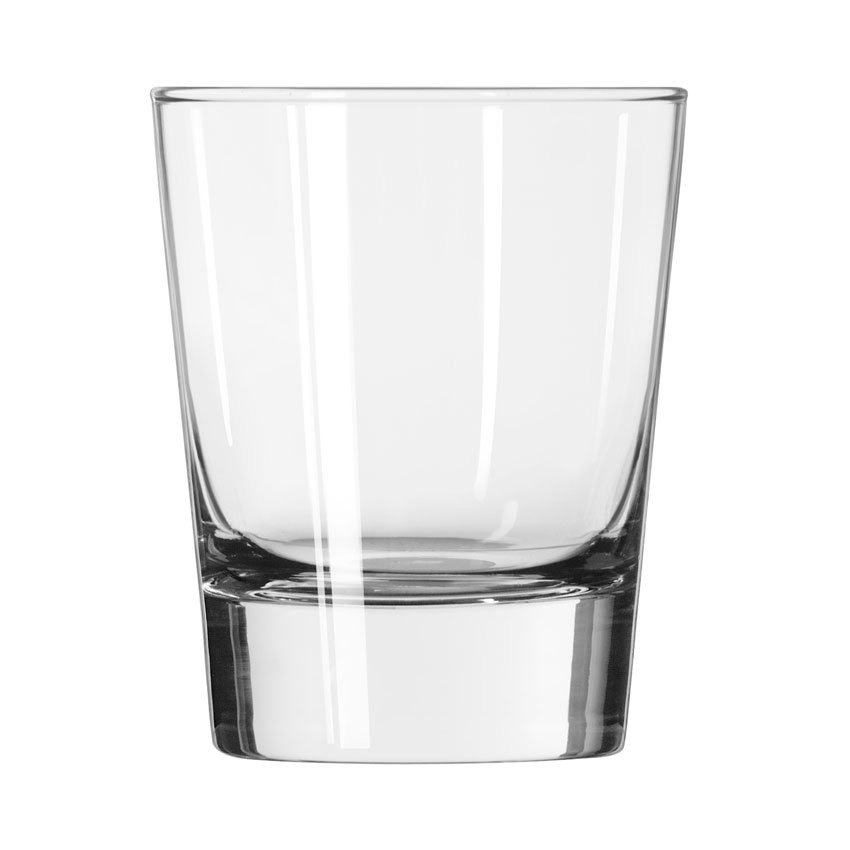 Libbey 2307 13.25-oz Geo Double Old Fashioned Glass - Safedge Rim Guarantee