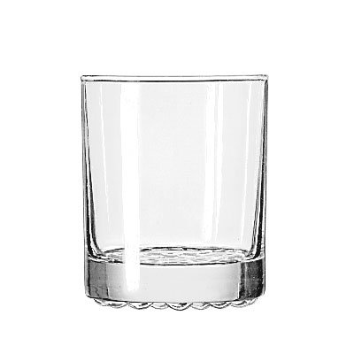 Libbey 23286 7.75-oz Nob Hill Old Fashioned Glass - Safedge Rim Guarantee