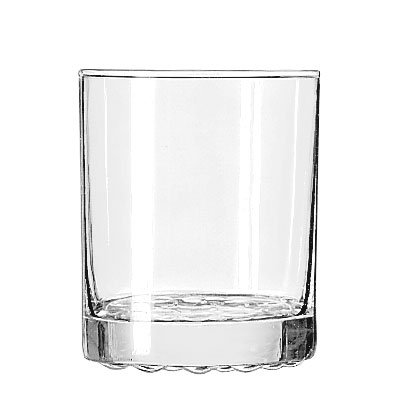 Libbey 23396 12.25-oz Nob Hill Double Old Fashioned Glass - Safedge Rim