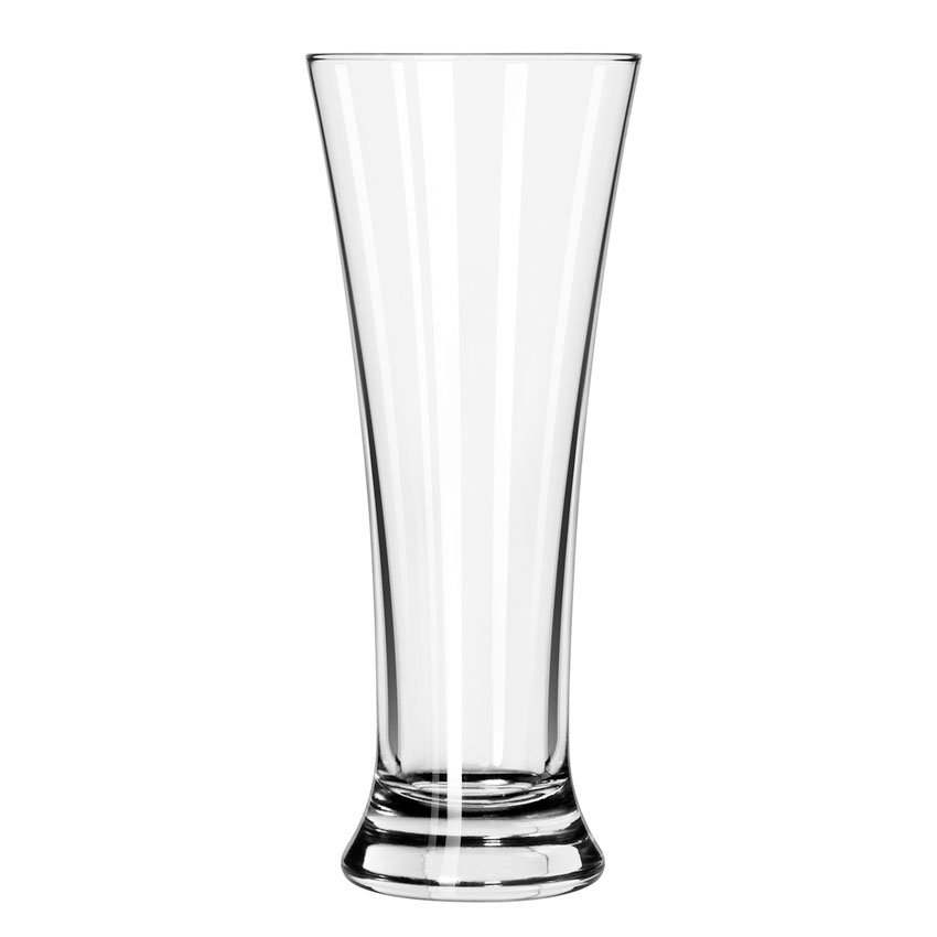 Libbey 247/69292 17-oz Fizzazz Flared Pilsner Glass - Nucleation Etching