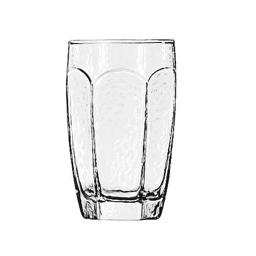 Libbey 2489 10-oz Chivalry Beverage Glass - Safedge Rim Guarantee