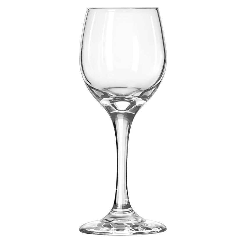 Libbey 3058 6.5-oz Perception White Wine Glass - Safedge Rim & Foot
