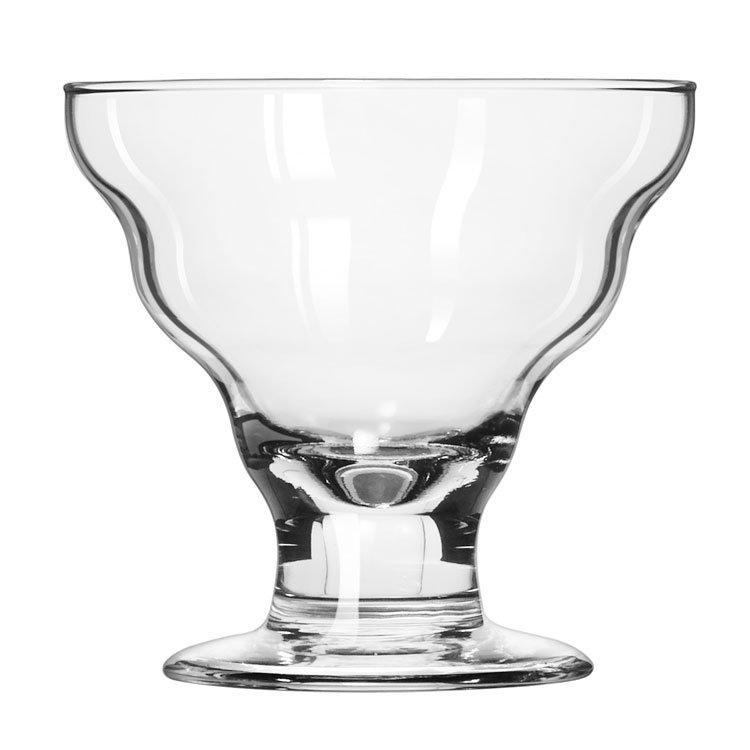 Libbey 3419 12-oz Splash Dessert Glass - Safedge Rim & Foot