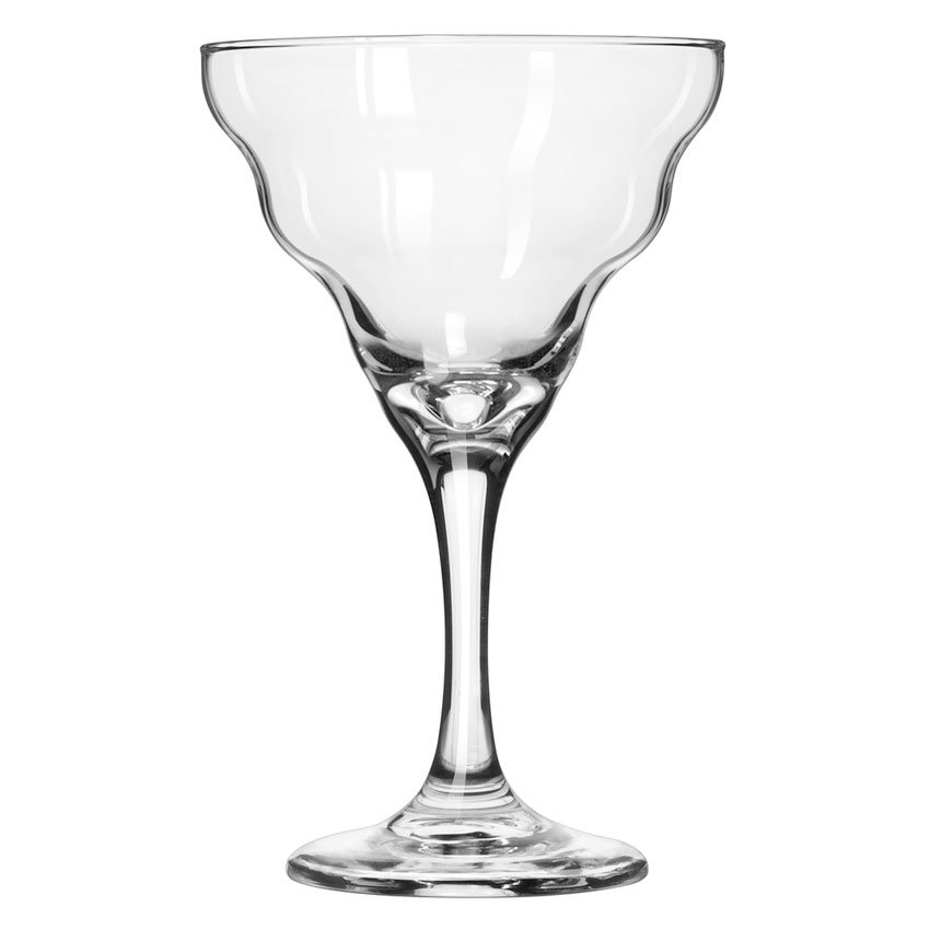 Libbey 3429 12-oz Splash Margarita Glass - Safedge Rim & Foot