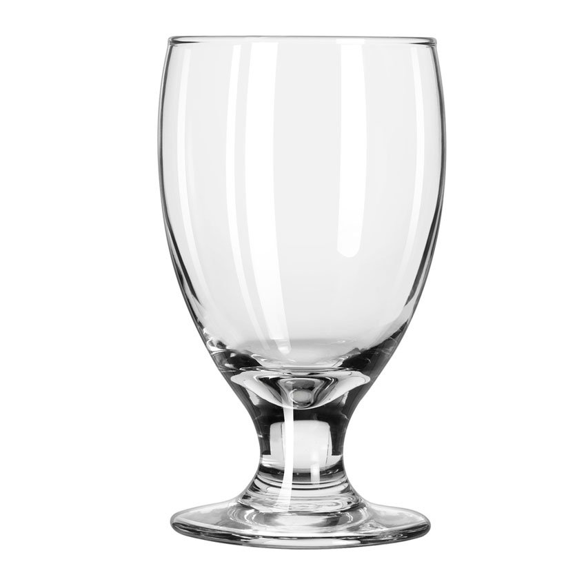 Libbey 3752HT 10.5-oz Embassy Banquet Goblet Glass - Safedge Rim
