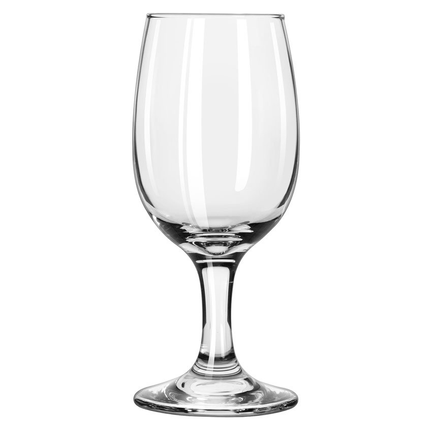 Libbey 3765 8.5-oz Embassy Wine Glass - Safedge Rim & Foot