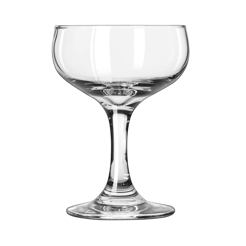 Libbey 3773 5.5-oz Embassy Champagne Glass - Safedge Rim & Foot Guarantee
