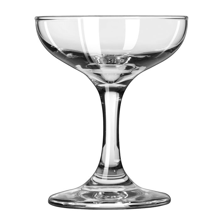 Libbey 3787 3.5-oz Embassy Champagne Glass - Safedge Rim & Foot Guarantee