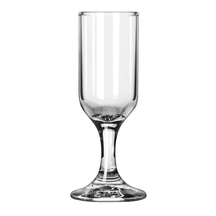 Libbey 3790 1.25-oz Embassy Cordial Glass - Safedge Rim & Foot Guarantee