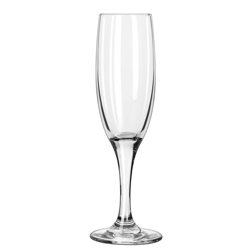 Libbey 3794 4.5-oz Embassy Flute Glass - Safedge Rim & Foot Guarantee