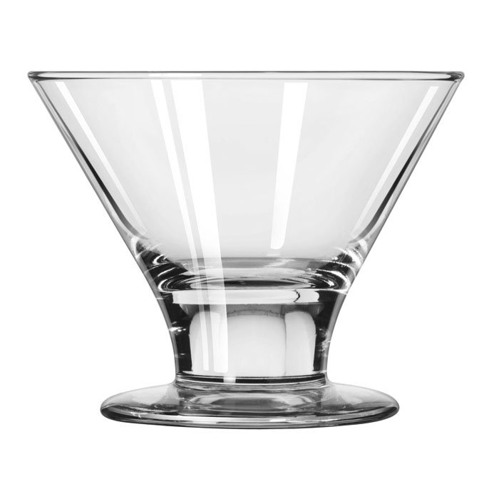 Libbey 3803 8-oz Embassy Martini Glass Dessert - Safedge Rim & Foot