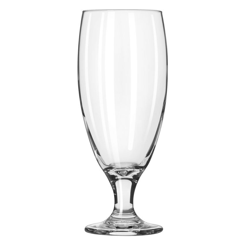 Libbey 3804 16-oz Embassy Pilsner Glass - Safedge Rim & Foot