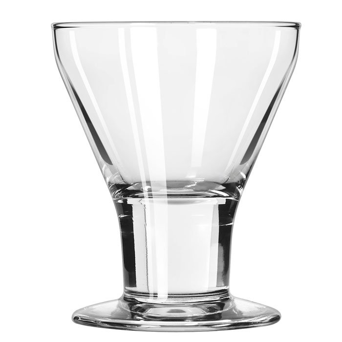 Libbey 3824 7-oz Catalina Rocks Sherbet Glass Dessert - Safedge Rim & Foot