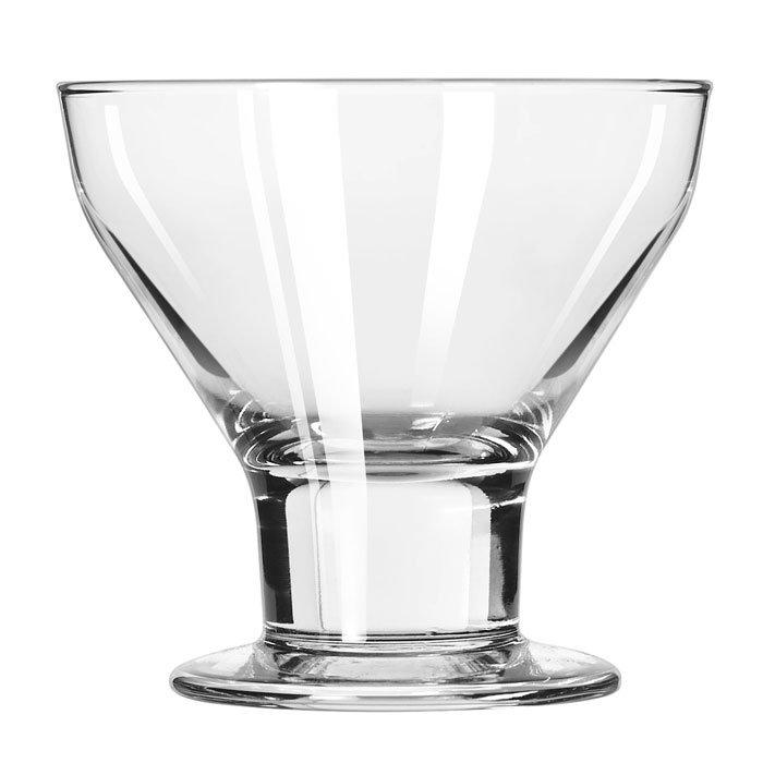 Libbey 3825 10-oz Catalina Dessert Glass - Safedge Rim & Foot Guarantee