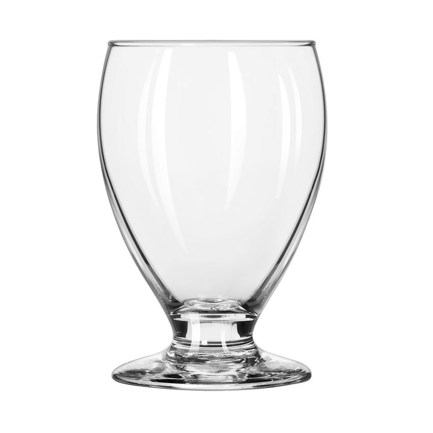 Libbey Glass 3908 10-1/4-oz Safedge Teardrop Beer Glass - Rim, Foot Guarantee