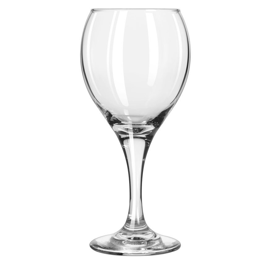 Libbey 3957 10.75-oz Teardrop All Purpose Wine Glass - Safedge Rim & Foot