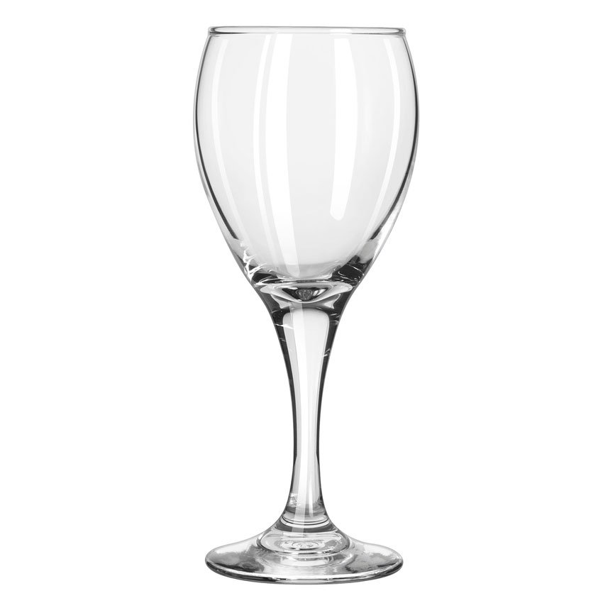 Libbey 3965 8.5-oz Teardrop White Wine Glass - Safedge Rim & Foot Guarantee