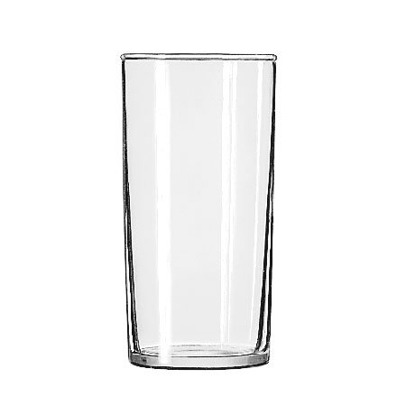 Libbey 44 Straight Sided Hi-Ball Glass w/ Safedge Rim Guarantee, 8-oz