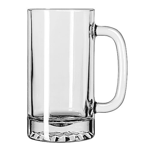 Libbey 5092 16-oz Tankard Starburst Mug