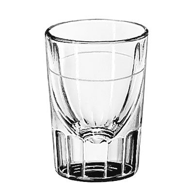 Libbey 5126/S0711 2-oz Lined Fluted Shot Glass