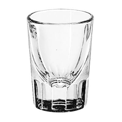 Libbey 5127 1.5-oz Fluted Whiskey Shot Glass