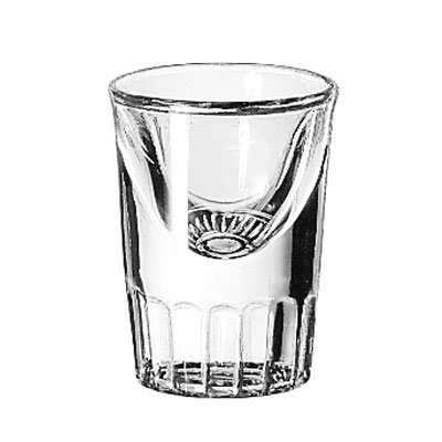 Libbey 5138 1-oz Whiskey Shot Glass Tall