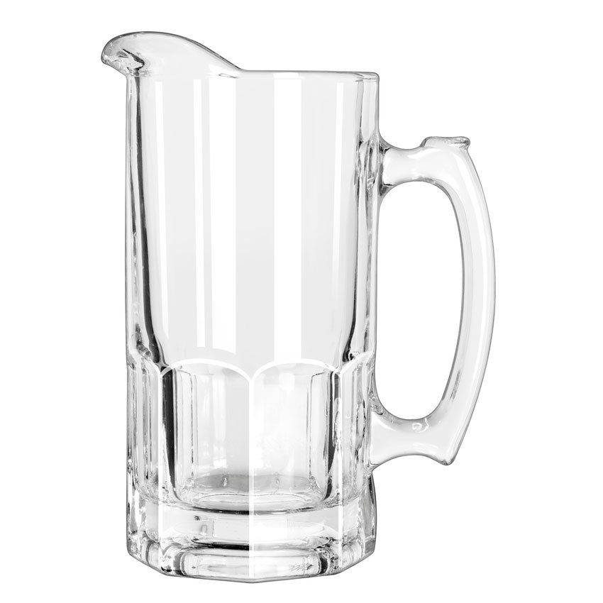Libbey 5263 34-oz Gibraltar Glass Super Pitcher