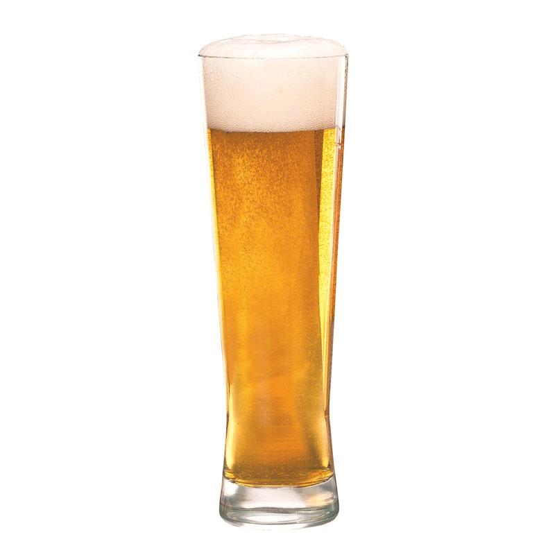 Libbey 528 20-oz Finedge Pinnacle Beer Glass - Rim Guarantee, Clear