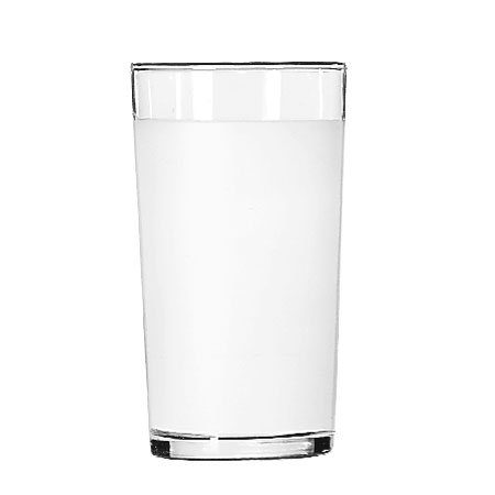 Libbey 53/11680 10-oz Frosted Clear Lip Collins Glass - Safedge Rim Guarantee