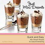Libbey 56005 Just Mini Desserts Cookbook