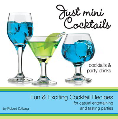 Libbey Glass 56166 Just Mini Cocktails Recipe Book