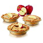 Libbey 56237 8-Piece Just Baking 6-in Pie Set