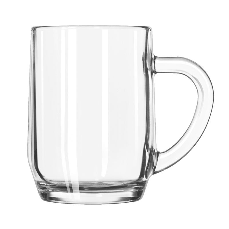 Libbey 5724 10 Oz All Purpose Glass Mug