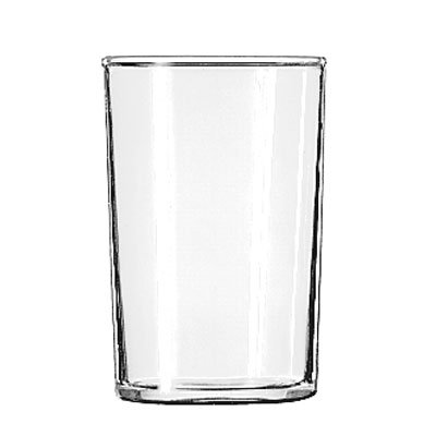 Libbey 58 Straight Sided Seltzer Glass w/ Safedge Rim Guarantee, 6-oz