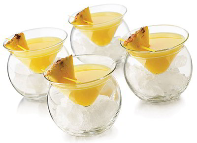 Libbey Glass 70855S6 Thriller Chiller Glassware Set w/ (6) 5.75-oz & (6) 4.3x3.1-in Glasses