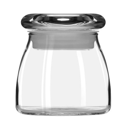 Libbey Glass 71355 4.5-oz Mini Vibe Jar w/ Flat Lid