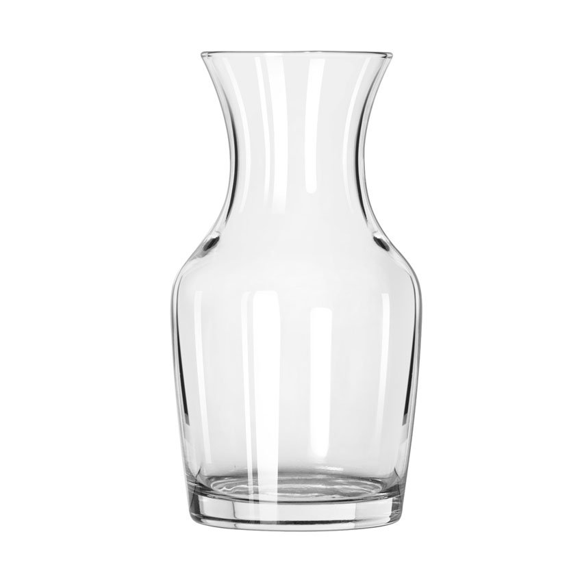 Libbey 735 6.5-oz Glass Wine Decanter - Safedge Rim Guarantee