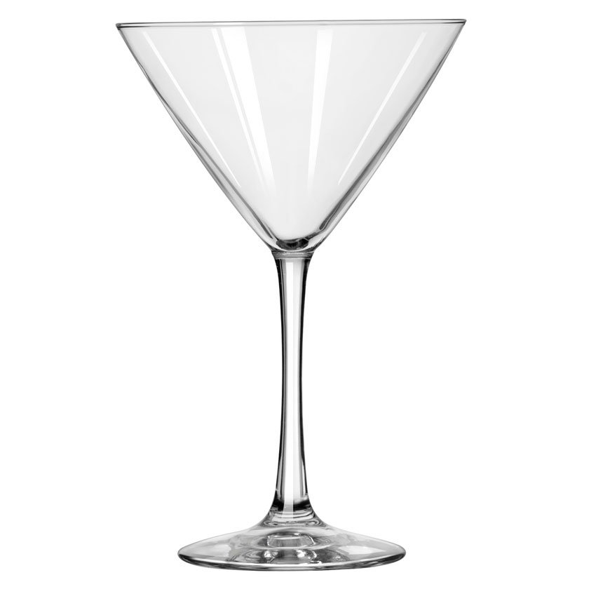 Libbey 7507 12-oz Midtown Martini Glass - Finedge & Safedge Rim
