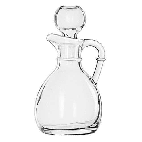 Libbey 75305 6-oz Glass Cruet - Stopper