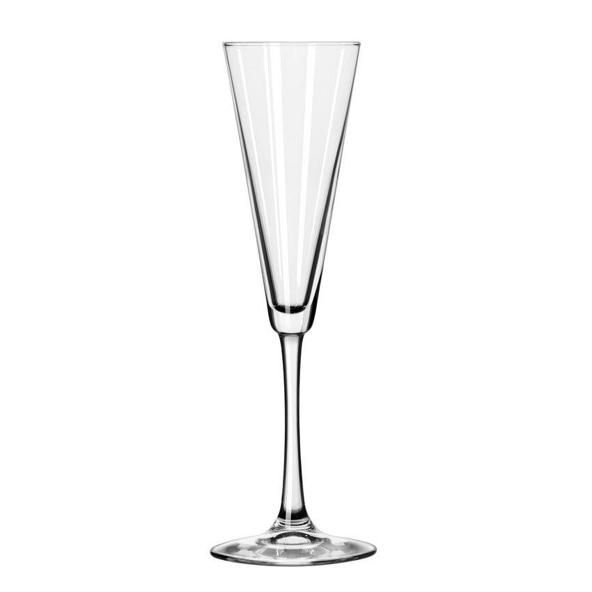 Libbey 7552 6.5-oz Vina Trumpet Flute Glass