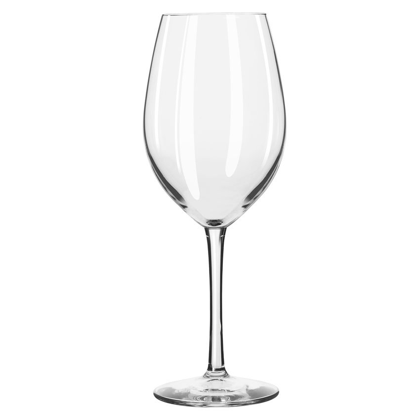 Libbey 7553 17-oz Safedge Vina Wine Glass - Rim Guarantee, Clear