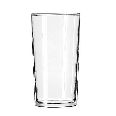 Libbey 77 Straight Sided Split Glass w/ Safedge Rim Guarantee, 6.25-oz