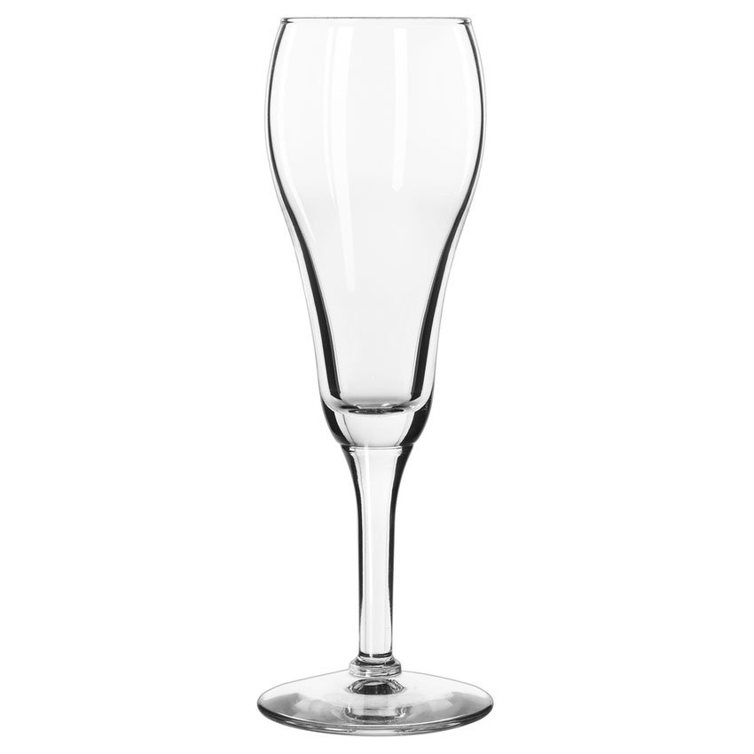 Libbey 8477 6-oz Citation Gourmet Tulip Champagne Glass - Safedge Rim