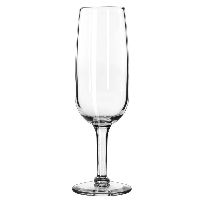 Libbey 8495 6.25-oz Citation Flute Glass - Safedge Rim Guarantee