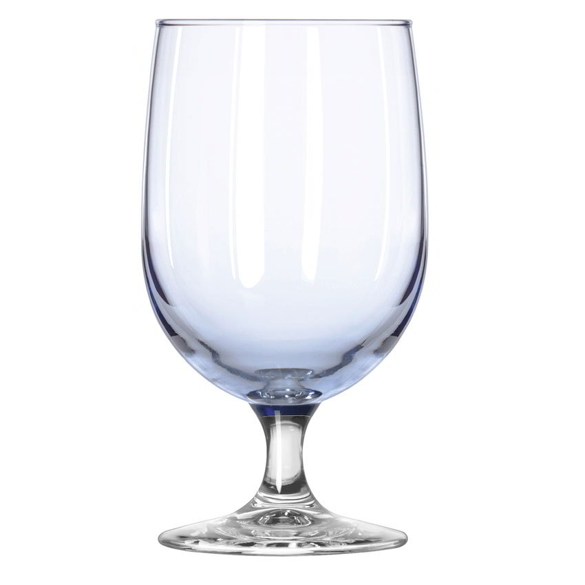 Libbey 8512A4 16-oz Montibello Misty Blue Iced Tea Glass - Safedge Rim