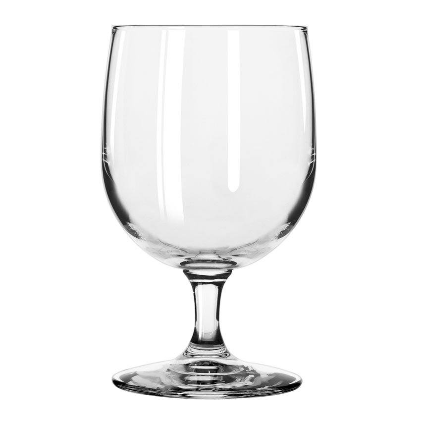 Libbey 8556SR 12-oz Bristol Valley Goblet Glass - Sheer Rim
